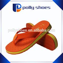 colorful design eva sole for slipper with fabric strap