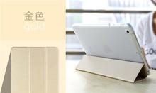 ROCK Series Stand Smart Cover Auto Sleep Folio Leather Case for iPad mini 3