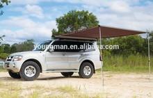 aluminium pole retractable car awning