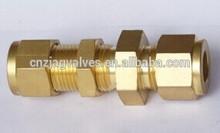 JD-1915 Brass Bulkhead Union Connector