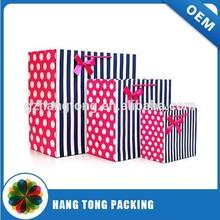 Clothing or t-shirt paper bag packaging design bag