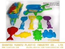 9pcs summer sand toys beach hand truck beach car mini beach toys