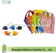 Fashion children cartoon Polyester fish shape durable Foldable Shopping Bag