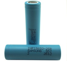 Wholesale Authentic Samsung 25R 18650 samsung icr18650-24e 2400mah