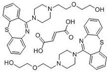 CAS no111974-72-2 enterprise standard Intermediates & Fine chemicals Quetiapine fumarate