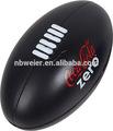 9x15cml regalo promocional de poliuretano espuma de la pu estrés pelota de rugby/de alta calidad de la pu de la espuma anti estrés pelota de rugby/juguetes de la pu bola de rugy