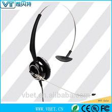 mordern fashion design usb headset call center advanced ergonomic