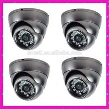 CCD 600TVL CCTV Camera with Vandalproof Aluminum housing
