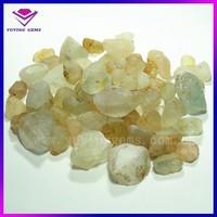 2014 China Wholesale Natural raw topaz stone price white topaz rough