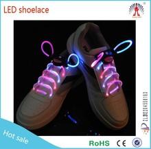 Wholesale Super Night led light flashing shoelace made in China