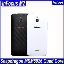 Foxconn Infocus M2 4G FDD LTE 4.2 Inch MSM8926 Quad Core Android 4.4 IPS 1280X768 1GB/8GB 8MP+8MP 4G Mobile Phone