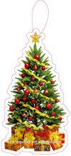 hot selling xmas tree ABSOLUT VANILIA paper air freshener