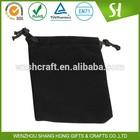 Custom Promotional velvet bag, velvet jewelry pouch,print velvet bag