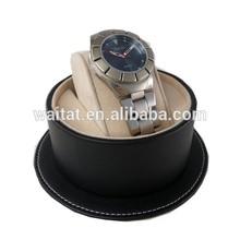 Black Hat Shape Sewing Edge Display Box Watches