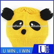 wholesale children winter crochet panda hat