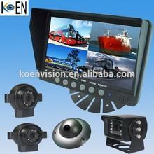7 Inch Monitor IP69K Waterproof Bus/Truck/Trailer 12V/24V CCTV Camera Trailer
