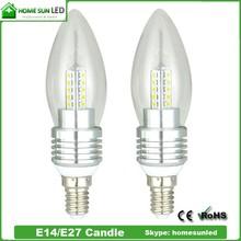 Indoor LED candle light 3W E14