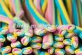 özellikli şekerleme büfe tatlı ve ekşi meyve lezzet uzun renkli yumuşak jöle şeker