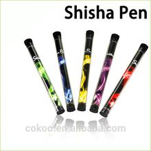 China supplier hot selling battery powered e shisha pen disposable e cigarette e shisha pen