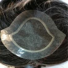 free shipping fashion 2014 black mens toupee