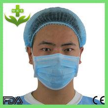Xiantao wuhan hubei mek produtos de saúde descartável não tecido chapéu enfermeira