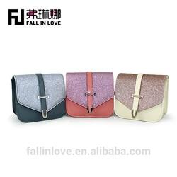 Factory made colorful kids glitter cute girl bag handbag fancy children bags
