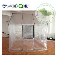 Fashion Design Steel Tube Transparent PVC Garden Grow Ten