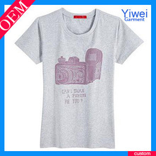 Printed Cotton Women T Shirt Wholesale Hot Sale T-Shirt