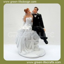 Sweet love Bride And Groom Cake Topper