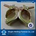 Kalıpiskele aksesuarları döner/sabit kelepçe, çelik boru klipsi sabitleme kelepçesi