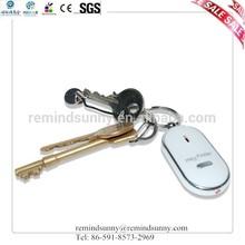 Plastic Led Whistle key Finder Key Chain Alarm Whistle Key Finder