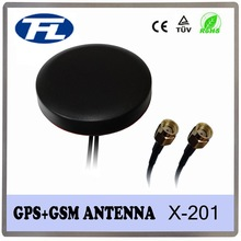 car Combo GPS GSM magnetic antenna with sma connector,combined GPS GSM antenna