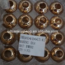 High quality Alibaba manufacturer brass valve parts/brass valve ball/Floating ball valve