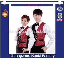 Popular design uniform for bellboy uniform for hotel