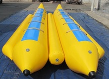 16 Seaters Inflatable Banana Boat,inflatable floating boat as water game
