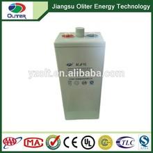 OPZV 2V500Ah tubular plate gel electrolyte solar battery
