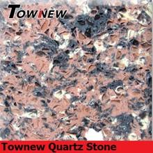 arabesquitic series Raw Umber quartz stone slab