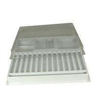 Custom high quality white black plastic tray rectangular,cheap pet blister packaging for electronic