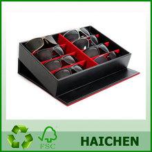 Black Large Sunglasses Case Display Storage