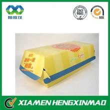 High quality hot dog packaging box / hot dog cardboard box