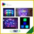 Effet magique fluorescent sous uv noir lumières. impression jet d'encre pour epson encre invisible