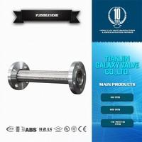Stainless steel flexible soar exhaust metal hose connector