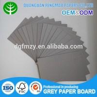 Kappa gray recycled chip board /grey paper board