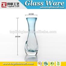 Gifts & Decor Murano Style Art Glass Vase, Ceremony Vase Wedding Centerpiece
