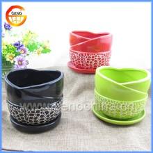 2015 ceramic concrete planter wholesale/ high quality ceramic pot