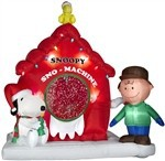 2014 hot sale Christmas Inflatable - Animated - Peanuts Snow Machine