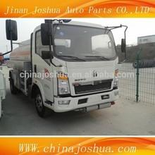 Howo Fuel Tanker Truck trucks For Sale/5000 liters fuel tanker truck/chemical tanker truck