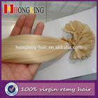 Nail Tip/U Tip Human Hair Extension