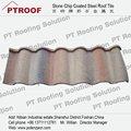 Hoja de acero para tejado ondulado 22 gauge