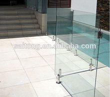 Alibaba china most popular swimming pool fence glass panels